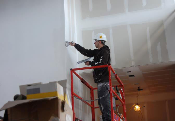 Commercial Drywall Thickness : Drywall installation and finishing services commercial